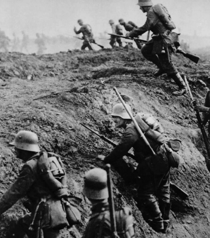 Bayonet Charge - Battle of Verdun